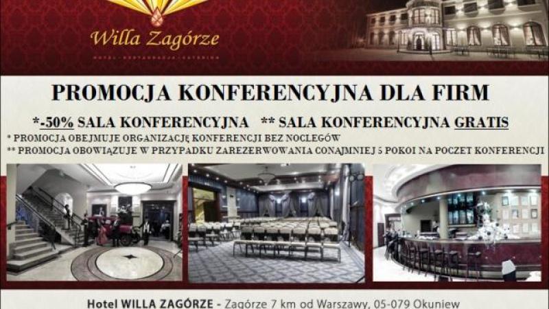 """""""HOTEL WILLA ZAGÓRZE"""" 7 km od Warszawy"""