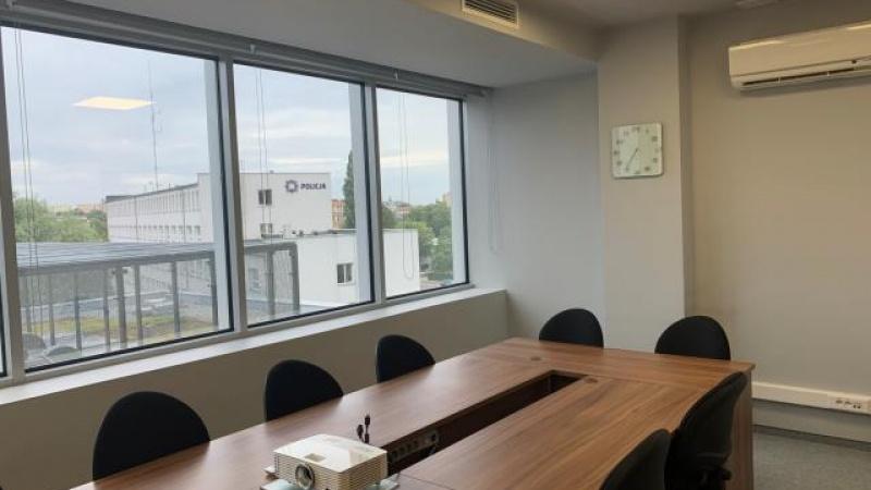 Sala konferencyjna w budynku K1