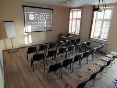 Sala konferencyjno - szkoleniowa RISE
