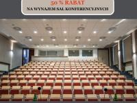 """Zimowe Konferencje w Krakowie! Na hasło """"listopad"""" 50% rabat na wynajem sal konferencyjnych."""