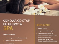 Odnowa od stóp do głowy w spa