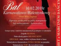 Bal Karnawałowo-Walentynkowy 2018 w Hotelu Willa Zagórze pod Warszawą